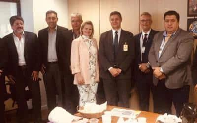 Sinfranco e APOST participam de GTs, Executivo, Operacional e Comercial  em Brasília